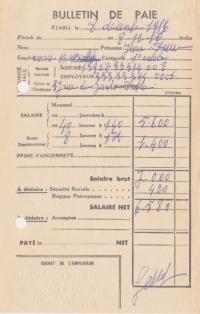 Evolution des fiches de paies à travers les âges, en France par votre cabinet d'externalisation de paie
